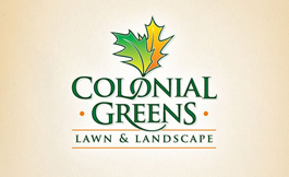 Logo Design for Colonial Greens Landscaping